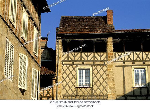 Figeac, Lot department, Midi-Pyrenees region, France, Europe