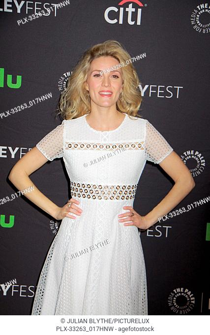 """Evelyne Brochu 03/23/2017 PaleyFest 2017 """"""""Orphan Black"""""""" held at The Dolby Theatre in Hollywood, CA Photo by Julian Blythe / HNW / PictureLux"""