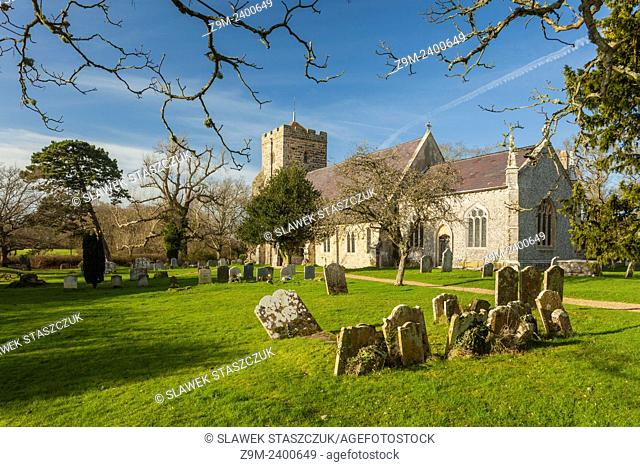Laughton church near Lewes, East Sussex, UK