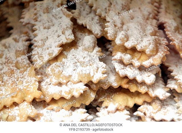 chiacchiere - Typical Italian dessert for carniva