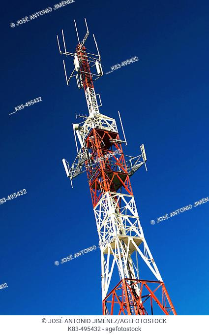 Telephone repeater tower