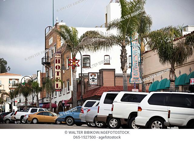 USA, California, Southern California, Pismo Beach, beach town