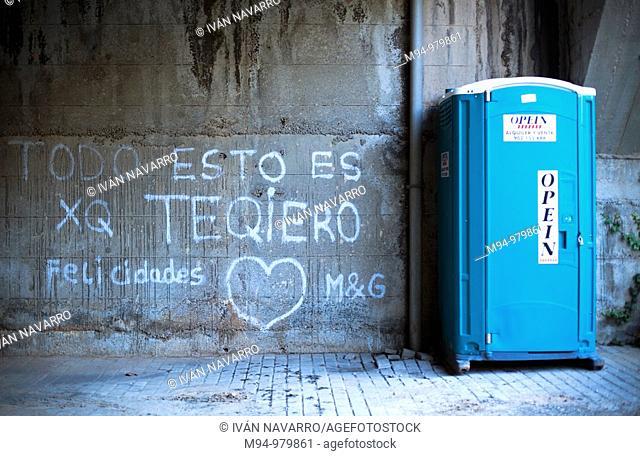 Love graffitti