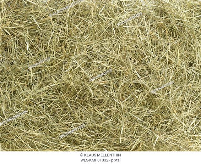 Straw, close-up, full rame