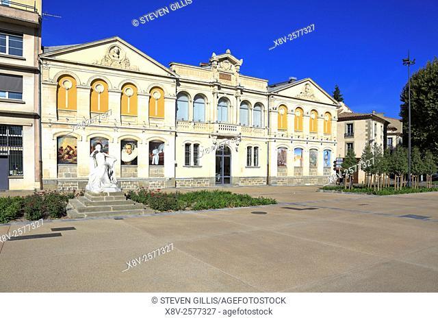 Museum of Fine Art, Carcassonne, Aude, Languedoc Roussillon, France