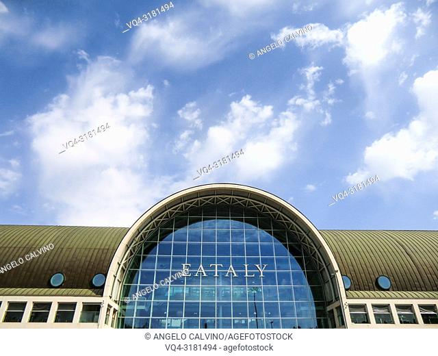 Main Entrance to Eataly Market, Rome, Italy, Europe