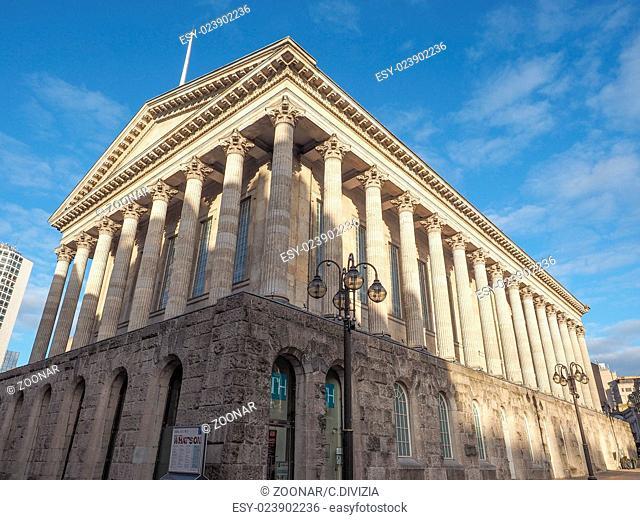 City Hall in Birmingham