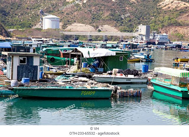 Fish farm at Sok Kwu Wan, Lamma Island, Hong Kong