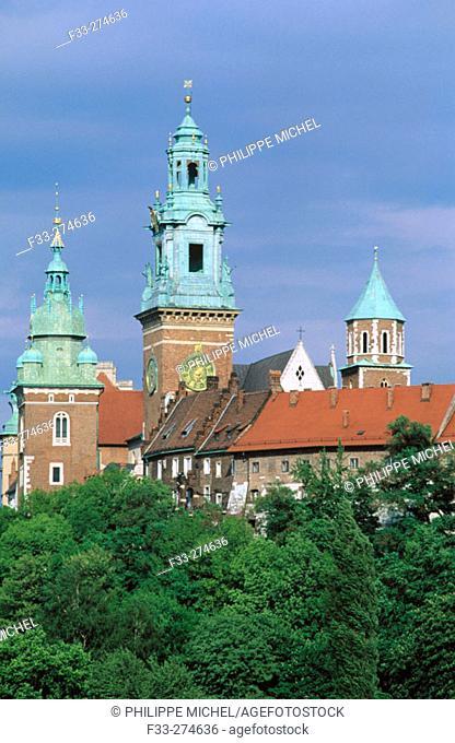 Wawel Castle. Krakow. Poland