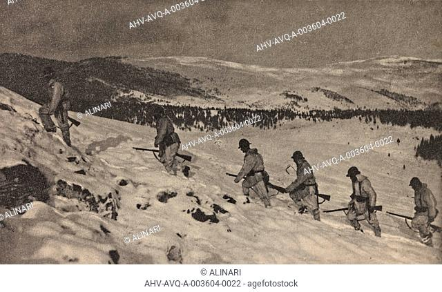 Album Visions of War 1915-1918: Alpine patrol, shot 1915-1918 by Aragozzini, Vincenzo