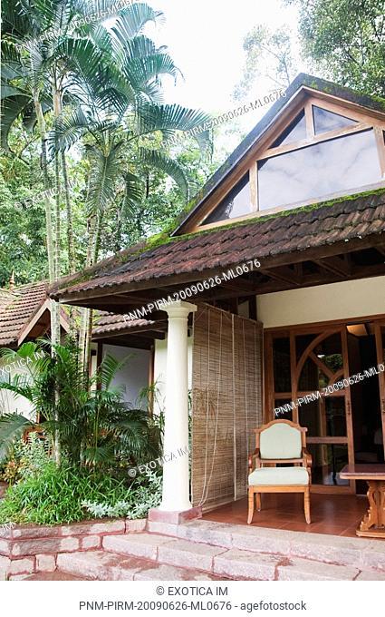 Cottage in a tourist resort, Zuri Kumarakom Resort And Spa, Kumarakom, Kottayam District, Kerala, India