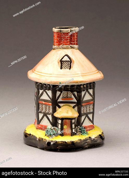Incense Burner - About 1830 - England, Staffordshire - Artist: Staffordshire Potteries, Origin: Staffordshire, Date: 1825–1835