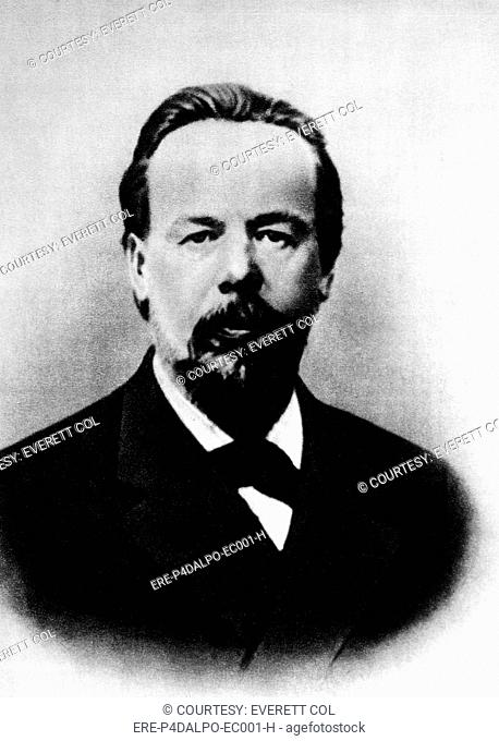 Aleksandr Popov 1859-1906, Russian physicist: inventor of wireless telegraphy. Transmitted the first message in 1896