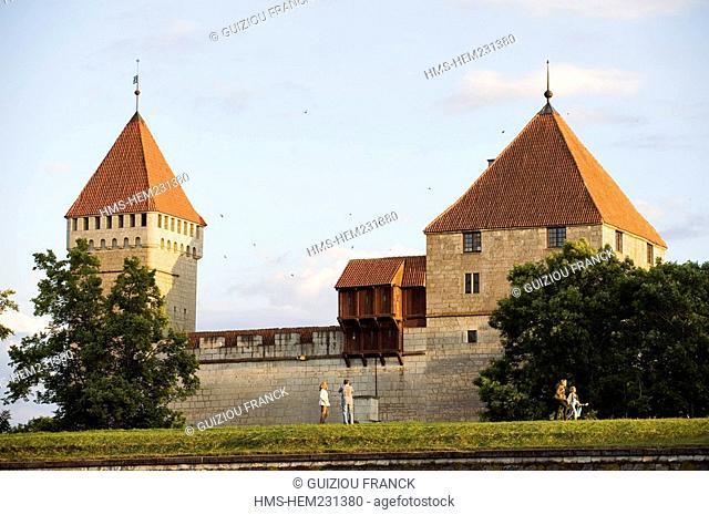 Estonia Baltic States, Saaremaa Island, Kuressaare Village, the episcopal palace