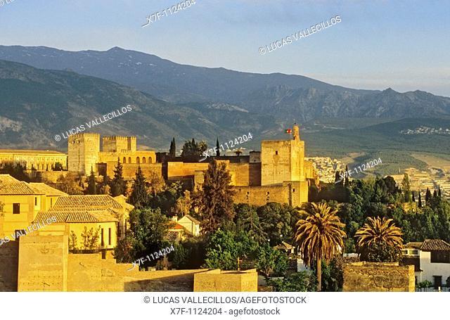 Alcazaba Alhambra, Granada  Andalusia, Spain