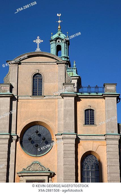 Storkyrkan Church; Gamla Stan; Stockholm; Sweden; Europe