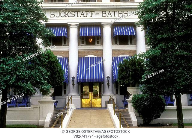 Buckstaff Bathhouse, Hot Springs National Park, Arkansas, USA