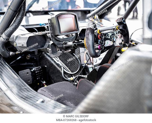Cockpit DTM BMW, Nürburgring 2017
