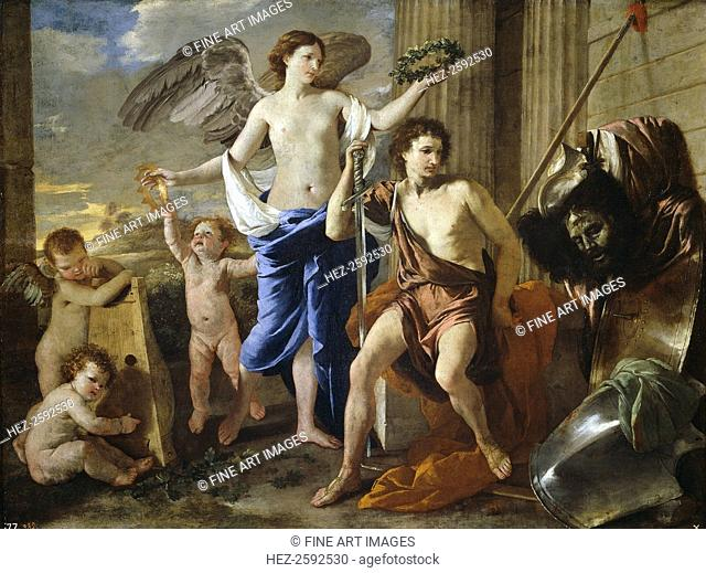 The Triumph of David, 1630. Found in the collection of the Museo del Prado, Madrid