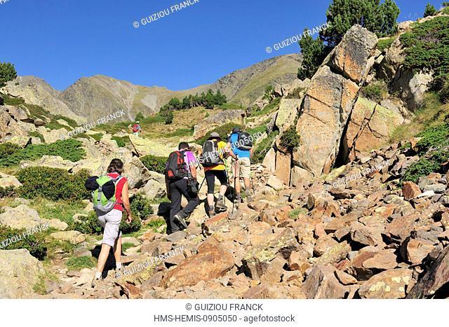 France, Pyrenees Orientales, Capcir region, Parc Naturel Regional des Pyrenees Catalanes (Natural Regional Park of Pyrenees Catalanes)