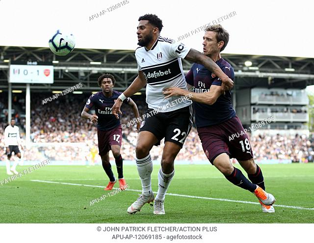 2018 EPL Premier League Football Fulham v Arsenal Oct 7th. 7th October 2018, Craven Cottage, London, England; EPL Premier League football