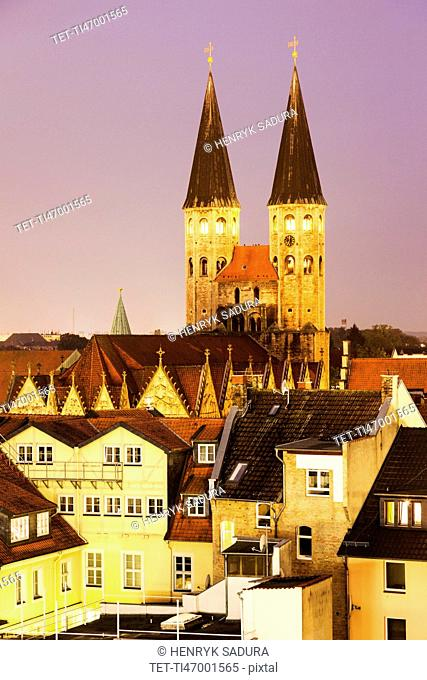 St Martini church in Braunschweig Braunschweig (Brunswick), Lower Saxony, Germany