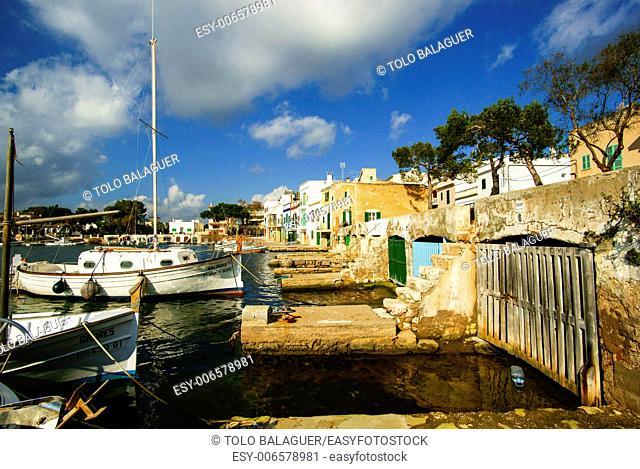 Porto Colom. Felanitx. Migjorn. Mallorca. Balearic islands. Spain