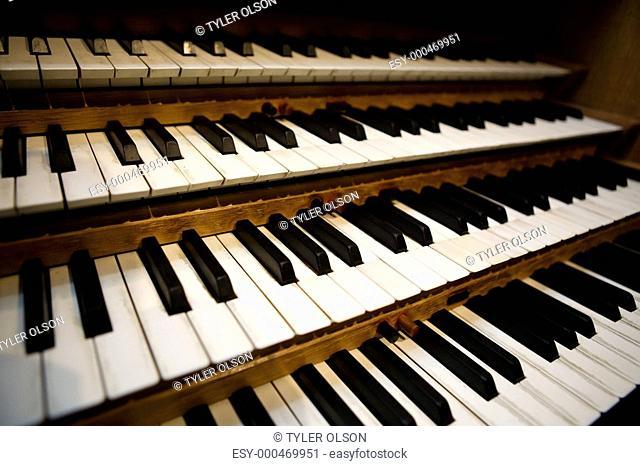 Pipe Organ Keyboard