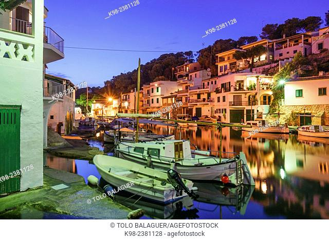 Cala Figuera, puerto tradicional de pescadores,Santanyí, islas baleares, Spain