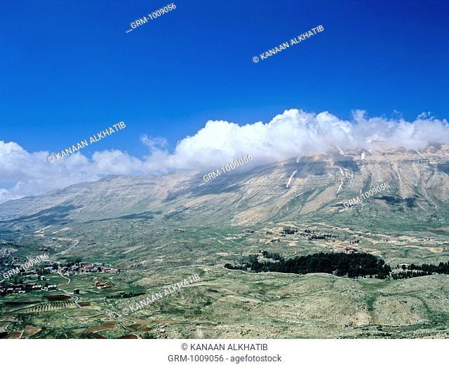 High Atlas Mountains in Morocco