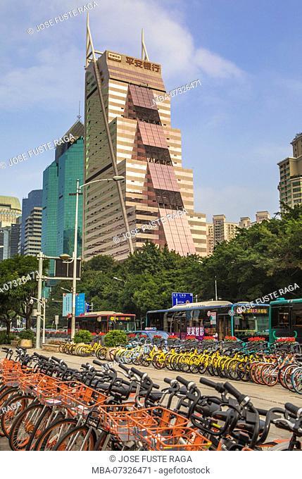 China, Shenzhen City, Hennan Avenue
