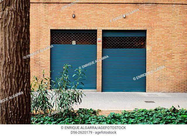 Closed shop, valencia, Spain