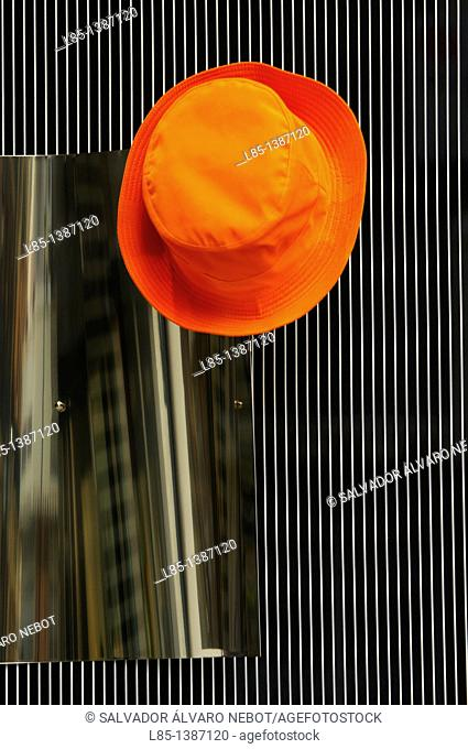 Orange hat hook