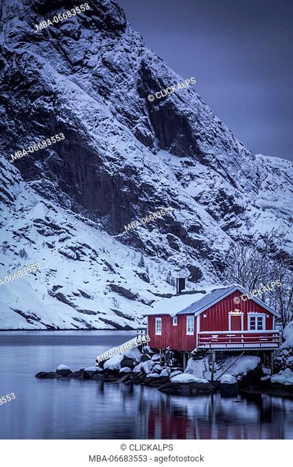 Nusfjord, Lofoten Island, Norway