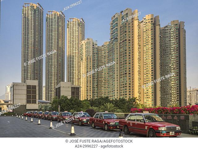 Hong Kong City,, Kowloon District new development