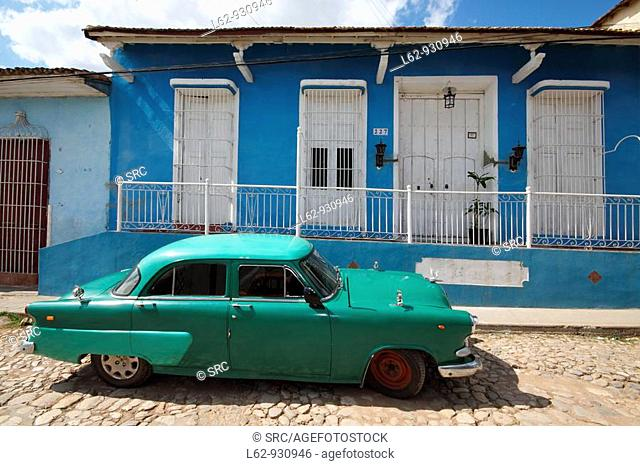 Cuba, Trinity, old Spanish colonial town, Caribbean, Americas, Villa of the Holy Trinity was the third town founded by the Spanish Crown in Cuba