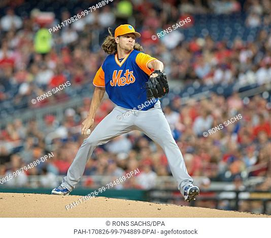 01839fd2a New York Mets starting pitcher Jacob deGrom (48) pitches in the first  inning against