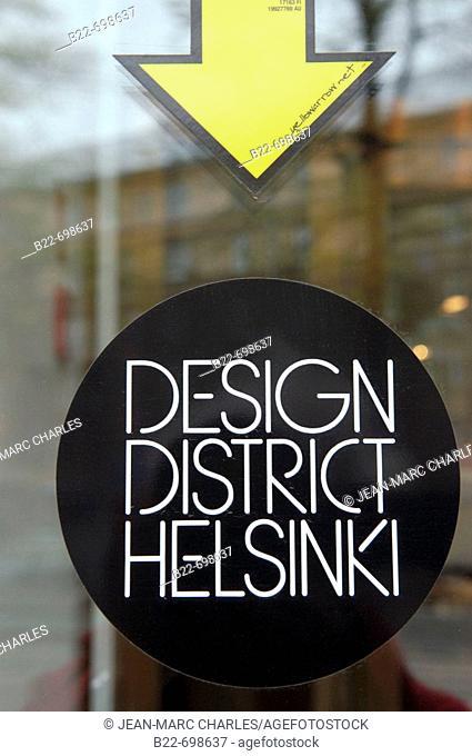 Design district Helsinki. Finland