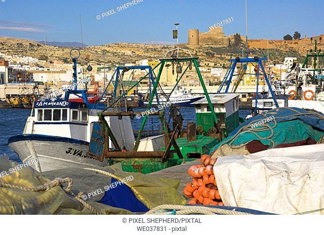Spain, Andalusia, Almeria, port