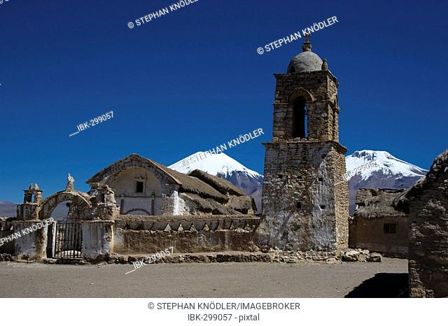 Church in Sajama village, Bolivia