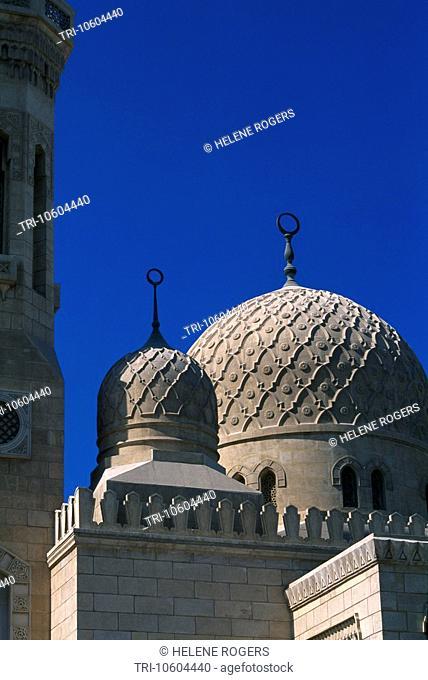 Dubai UAE Domes Of Jumeira Mosque