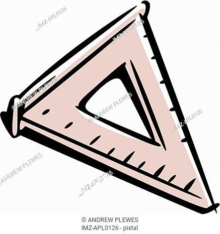A set square
