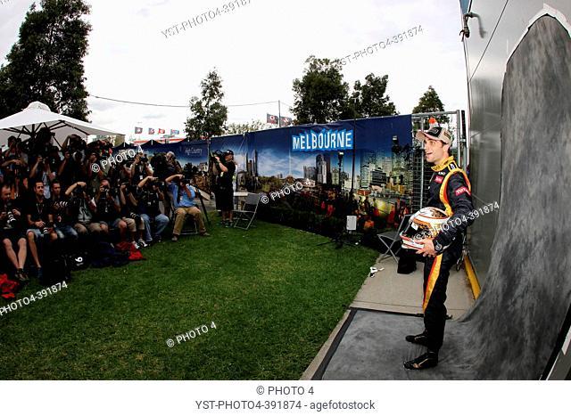 Jerome D'Ambrosio BE Lotus F1 Team, F1, Australian Grand Prix, Melbourne, Australia