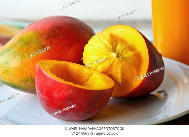 Red Mangoes fruit