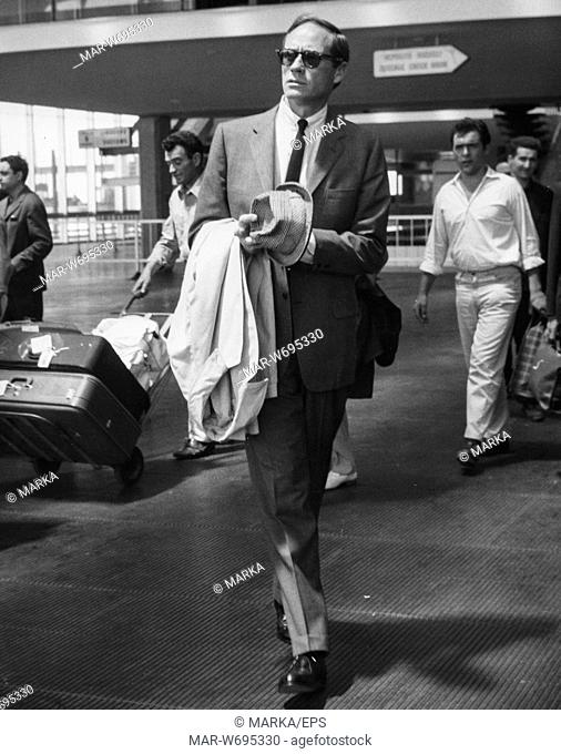mel ferrer, roma, 24 luglio 1962