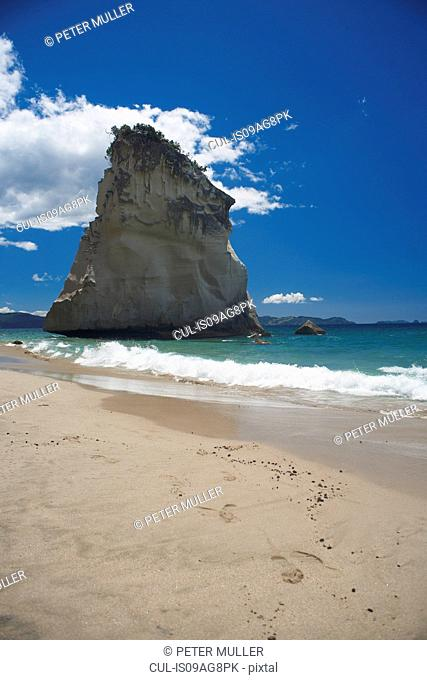Te whanganui-a-hei beach, Coromandel Peninsula, New Zealand