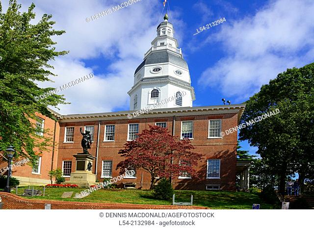 State Capitol Building Statehouse Annapolis Maryland MD Capital