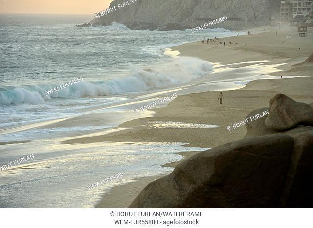 Beach of Cabo San Lucas, Baja California, Mexico