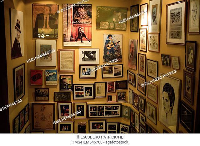 Argentina, Buenos Aires, Homero Manzi tango cabaret on Boedo avenue