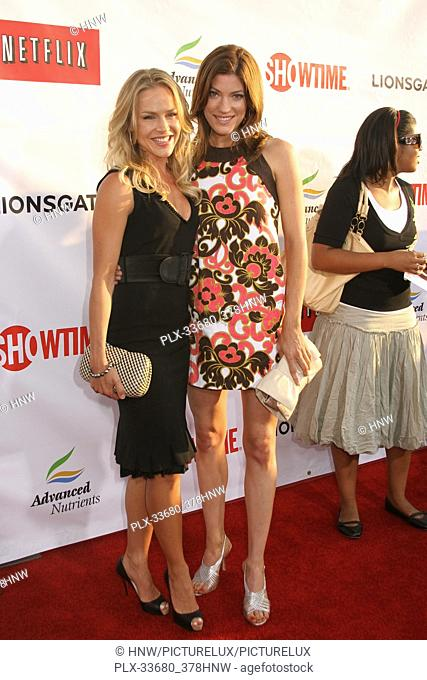 "Julie Benz, Jennifer Carpenter 08/01/07 """"SHOWTIME's comedy double header red carpet premiere night: WEEDS Season3 and new comedy series CALIFORNICATION..."